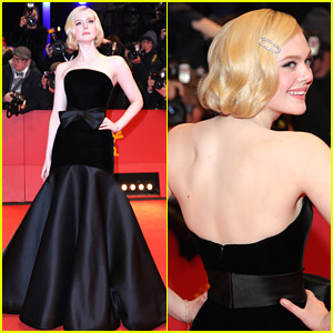 Elle Fanning Gives Old Hollywood Glamour At 'The Roads Not Taken' Berlinale Premiere