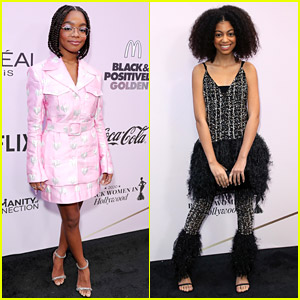 black-ish's Marsai Martin & mixed-ish's Arica Himmel Attend 'Essence' Luncheon!