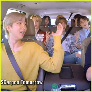 Suga Shares Why He Was In The Trunk On BTS' 'Carpool Karaoke' with James Corden