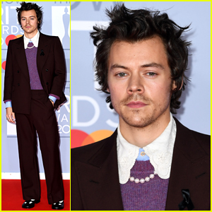 Harry Styles Walks BRIT Awards 2020 Carpet After Knifepoint Mugging Reports