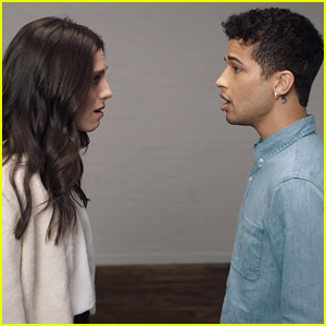 Jordan Fisher & Gabrielle Carrubba Sing 'If I Could Tell Her' From 'Dear Evan Hansen' - Watch Now!