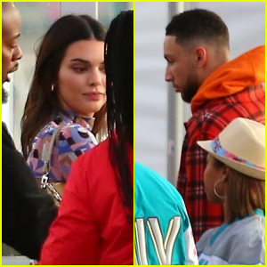 Kendall Jenner Joins Boyfriend Ben Simmons at Super Bowl 2020 in Miami