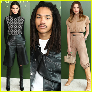Kendall Jenner Joins Luka Sabbat & Ashley Benson at Longchamp Fashion Show