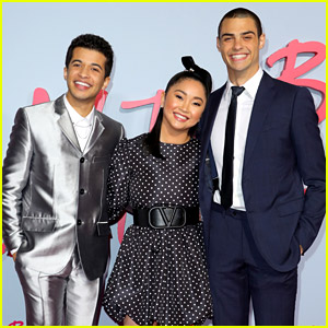 Lana Condor, Noah Centineo, & Jordan Fisher Premiere 'To All The Boys 2' in Hollywood!