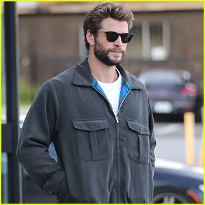 Liam Hemsworth Gets Fitted For a Suit at John Varvatos