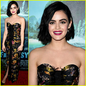 Lucy Hale Looks Stunning at 'Fantasy Island' L.A. Premiere!