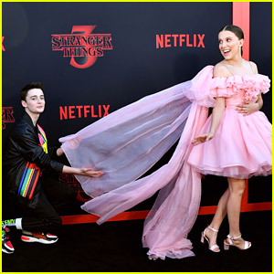 Noah Schnapp Shares Super Sweet Birthday Note For BFF Millie Bobby Brown With Throwback Photos!