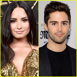 Demi Lovato Makes Surprise Appearance on Max Ehrich's Instagram Live!