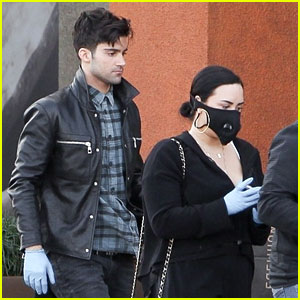 Demi Lovato & Max Ehrich Went Grocery Shopping Together Earlier This Month!