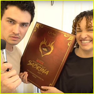Gavin Leatherwood Does His Sister's Makeup in Hilarious Video - Watch!