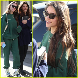 Madison Beer Grabs Lunch With Friends Ahead of 21st Birthday