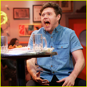 Niall Horan Eats Hot Wings Until He Explodes In Hilarious 'Late Late Show' Sketch!