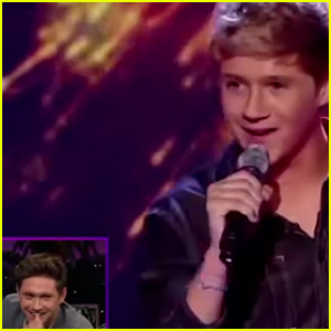 Niall Horan Watches One Direction's First 'X Factor' Performance! (Video)
