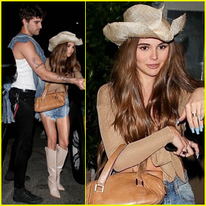 Olivia Jade & Jackson Guthy Couple Up For Western-Themed Party