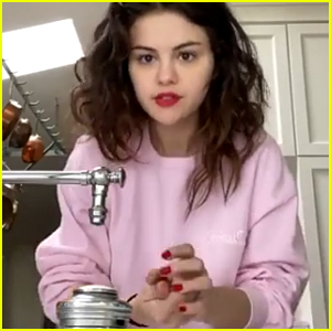 Selena Gomez Shows How to Wash Your Hands in 'Safe Hands Challenge' Video - Watch!