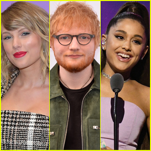 Taylor Swift, Ed Sheeran, & Ariana Grande Named Top-Selling Artists of 2019!