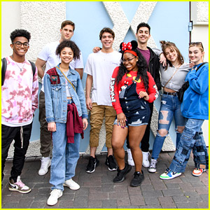 'Zombies 2' Cast Enjoy Fun Filled Day at Disneyland