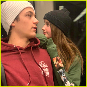Asher Angel Talks Being Away From Annie LeBlanc During Quarantine
