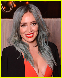 Hilary Duff Ditches Blonde Hair, Goes Back To This Color