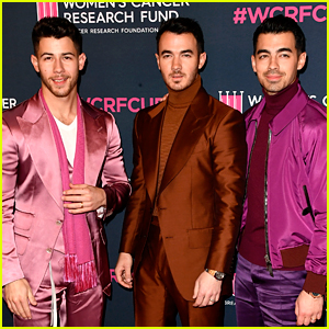 The Jonas Brothers Made Fans Freak Out After Crashing Their Zoom Calls Tonight