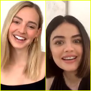 Lucy Hale Taught Herself a New Skill While In Quarantine