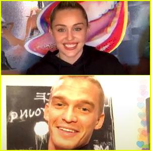 Miley Cyrus Shaved Cody Simpson's Head!