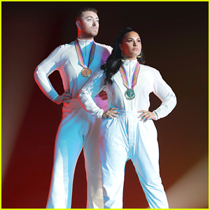 Sam Smith & Demi Lovato Drop Olympic Themed 'I'm Ready' Music Video - Watch Now!