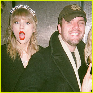 Taylor Swift Promotes Her Brother Austin's Movie on National Siblings Day!