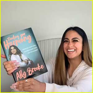 Ally Brooke Reveals Book Cover & Release Date!!