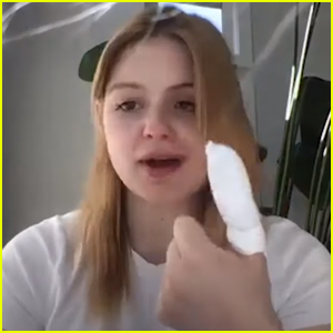 Ariel Winter Reveals She Sliced Off The Tip of Her Thumb & Had To Go To The Hospital!