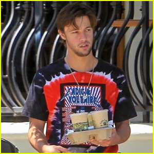 Cameron Dallas Makes a Trip to the Cafe with Someone Special!