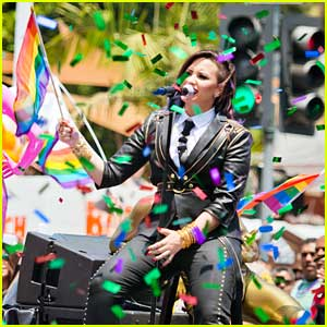 Demi Lovato Teams With The Trevor Project For 'Pride Everywhere' Campaign