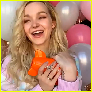 Dove Cameron Wins First Ever Kids' Choice Award For Favorite Movie Actress!
