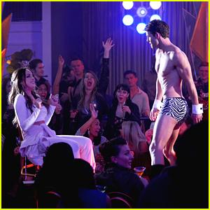 Fallon Gets a Surprise Bachelorette Party On Tonight's 'Dynasty' Season Finale