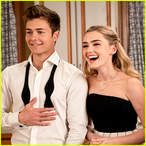 Meg Donnelly & Peyton Meyer Head To Prom On 'American Housewife' Season Finale!