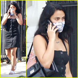 Camila Mendes Goes On A Coffee Run Shortly After Supporting Her 'Riverdale' Co-Stars