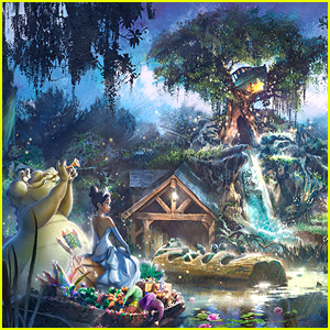Disney Parks Announces Splash Mountain is Officially Getting a 'Princess & The Frog' Overhaul - First Look!