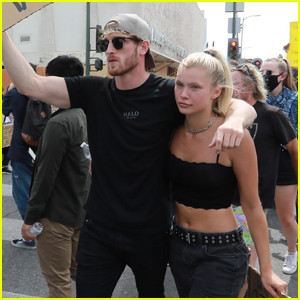 Logan Paul & Josie Canseco Join the Black Lives Matter Protest in L.A.