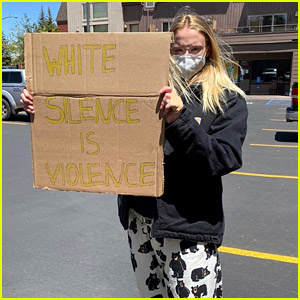 Joe Jonas & Sophie Turner Attend a Black Lives Matter Protest