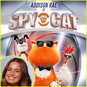 Addison Rae Stars In 'Spy Cat' Trailer - Exclusive Premiere!