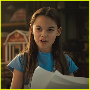 Ariana Greenblatt Stars In 'The One & Only Ivan' Trailer - Watch Now!