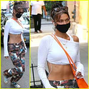Bella Hadid Steps Out for Retail Therapy in New York