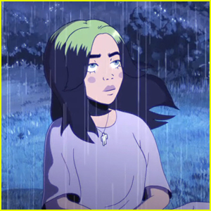 Billie Eilish Gets Animated For 'my future' Music Video - Watch Now!