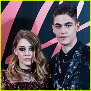 Hero Fiennes-Tiffin Lays on Josephine Langford On New 'After We Collided' Poster