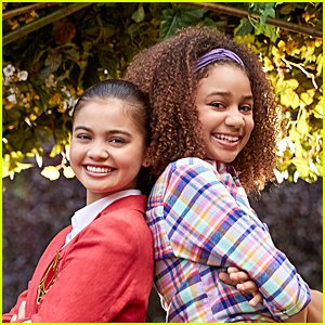 Siena Agudong & Izabela Rose Found Out They Were Cast in 'Upside-Down Magic' At The Same Time - Watch the Video!