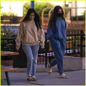 Addison Rae Joins Pal Kourtney Kardashian for Dinner in Malibu