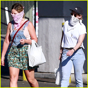 Kristen Stewart Rocks A Bandana Mask For Rite Aid Run