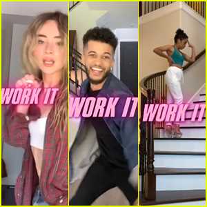 Sabrina Carpenter, Jordan Fisher & Liza Koshy Reveal 'Work It' Release Date