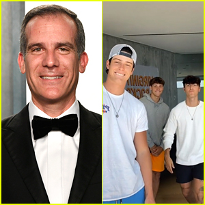Los Angeles Mayor Authorizes Power To Be Shut Off at Bryce Hall's House After Excessive Partying