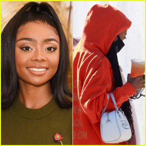 Skai Jackson Appears to Be Joining 'Dancing with the Stars,' Arrives at Dance Studio with This Pro!